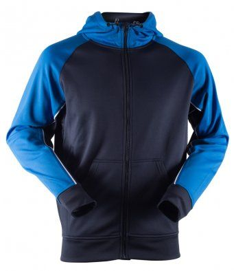 Lindholme AC Fully Zipped Contrast Hoodie