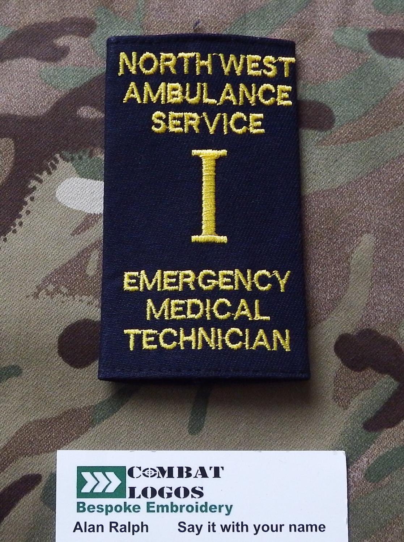 North West Ambulance Service Rank Slides