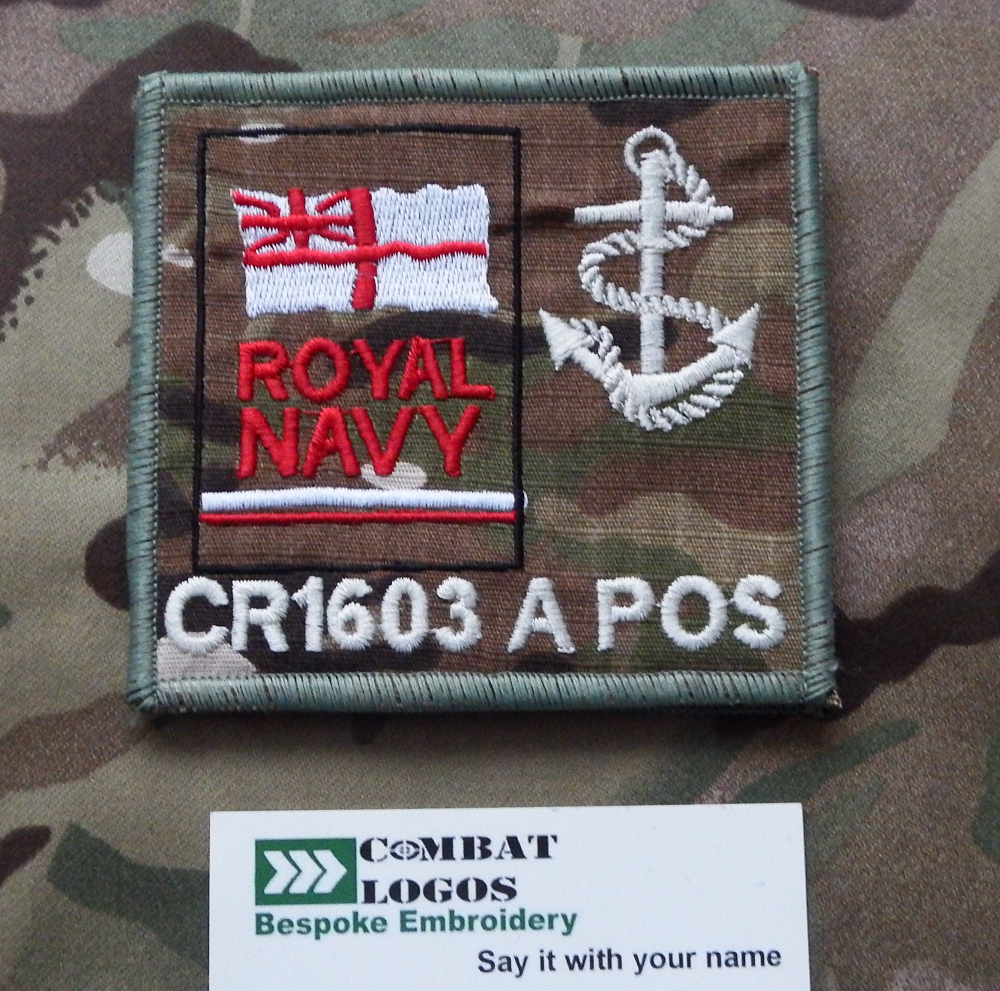 Royal Navy TRF Zap Patch Pack