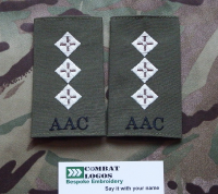 Army Air Corps Rank Slides