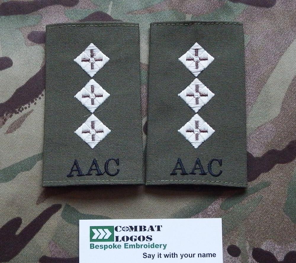 Army Air Corps Rank Slides