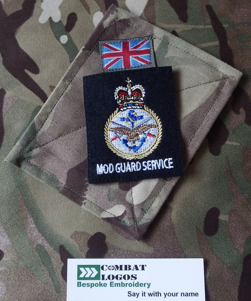 MOD Police Badges