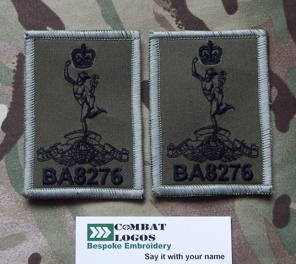 Royal Signals Small  Zap Patch Pack