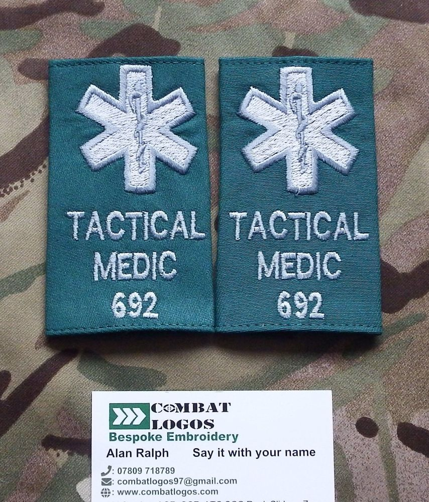 Specialist Police Rank Epaulettes