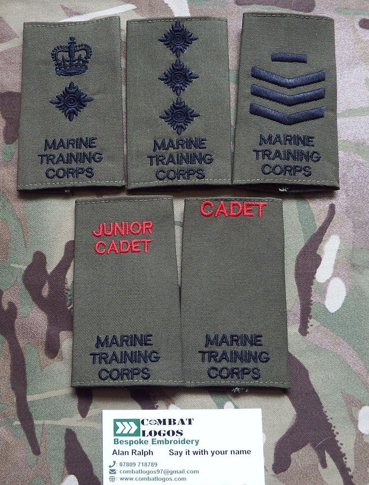 Marine Training Corps Rank Slides