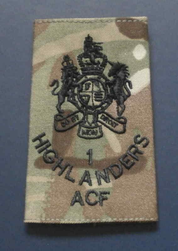 1 Highlanders ACF RSM