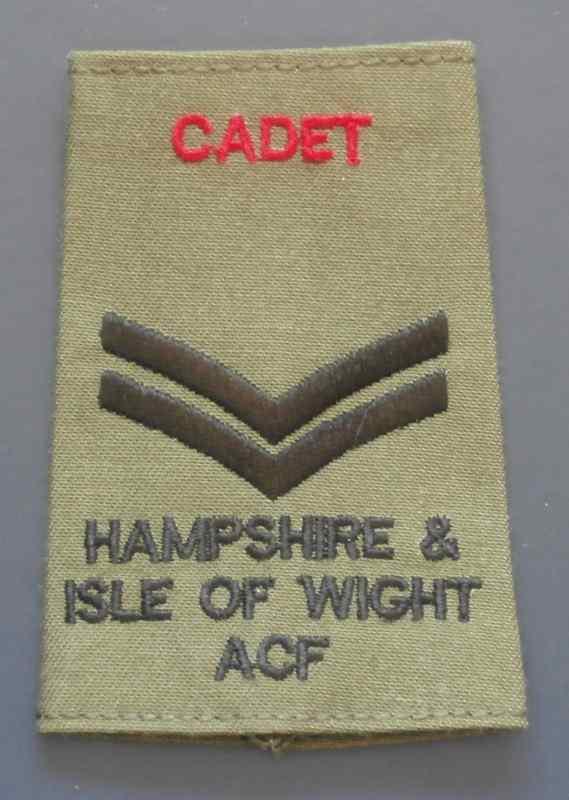 Cadet Cpl ACF
