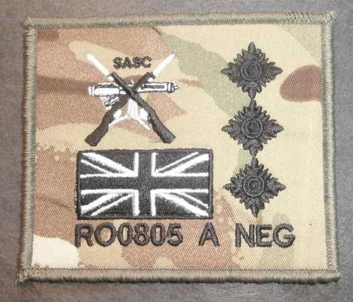 SASC TRF Zap Patche