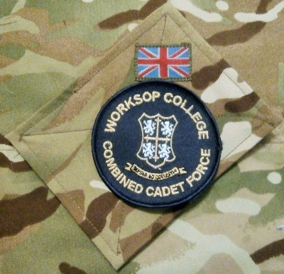Worksop College CCF Badge