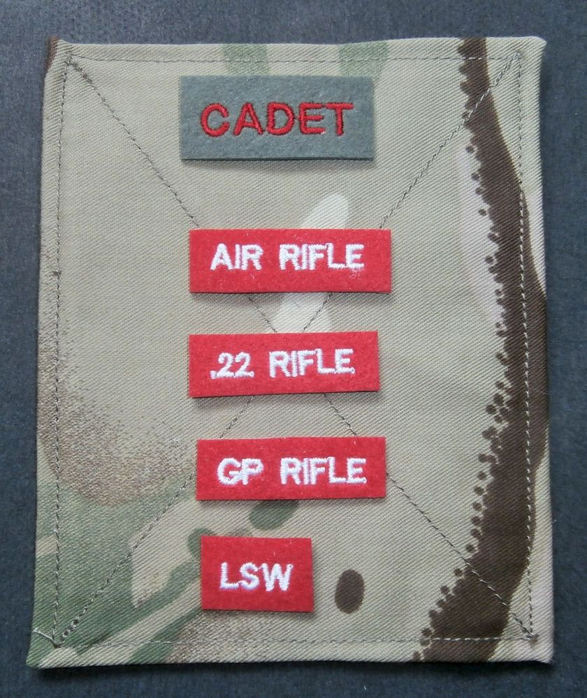 Weapon Qualification Patches