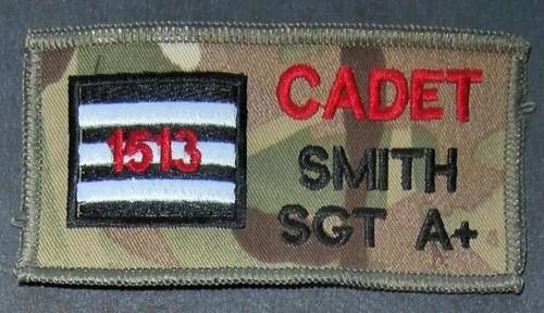 Cadet Combat Zap Patch