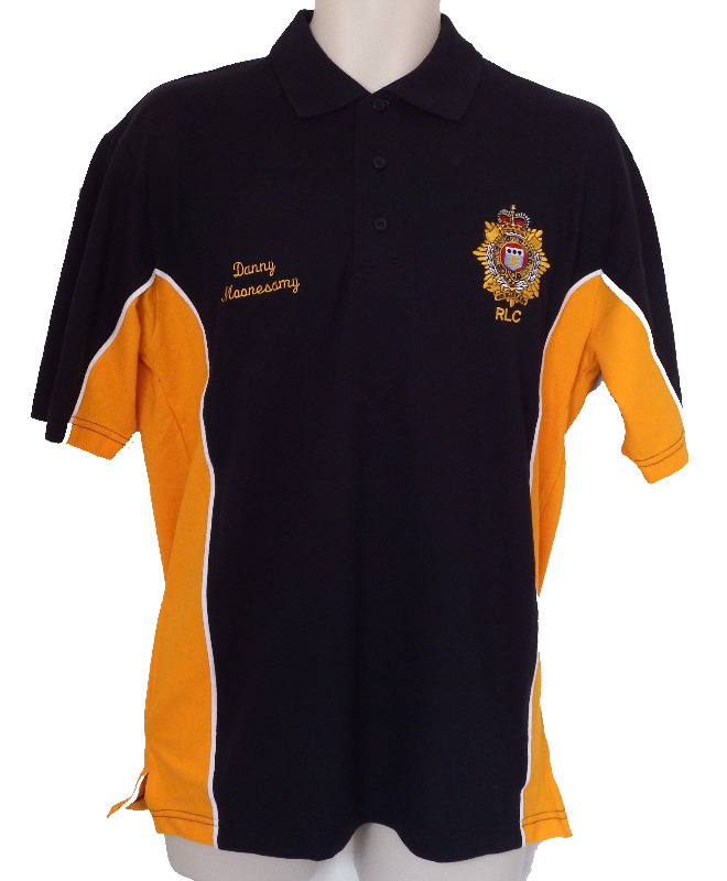 team rlc 2014 contrast polo shirts