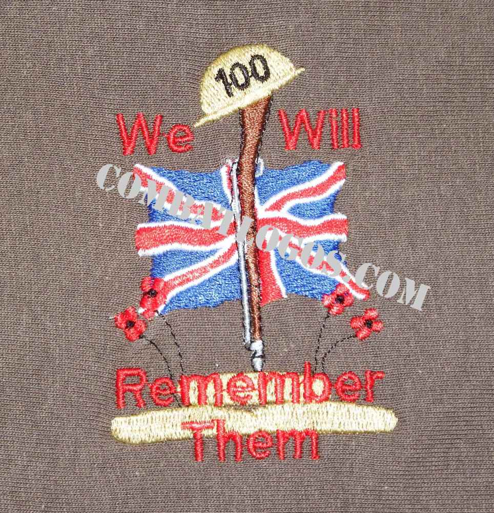 The Act of Remembrance Clothing