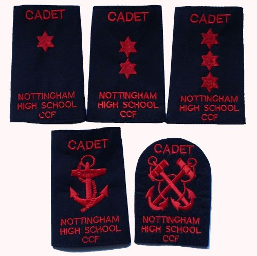 CCF Navy Section Rank Slides