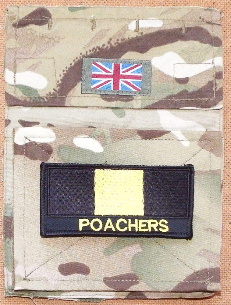 Large Poachers TRF badge