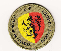 Wymondham College CCF Cadet Rank Slides