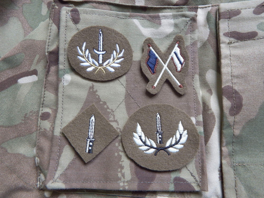 ACF/CCF Qualification Badges