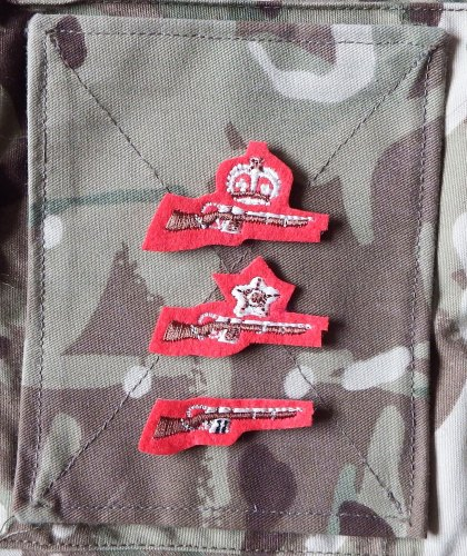 ACF/CCF Shooting Qualification Badges