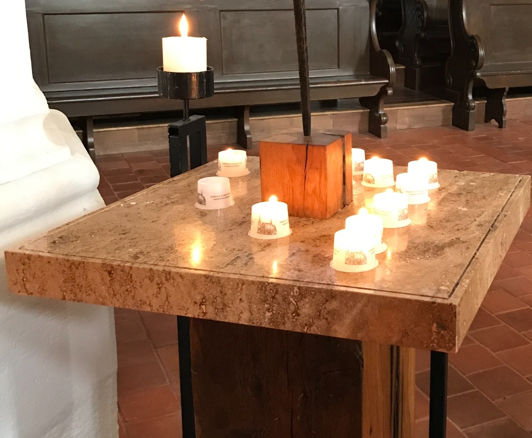 Wednesday & Sunday services, plus Women's World Day of Prayer