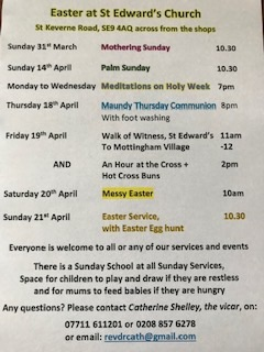 Easter Services - 2019