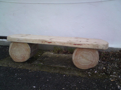 Rustic Forest Bench 2