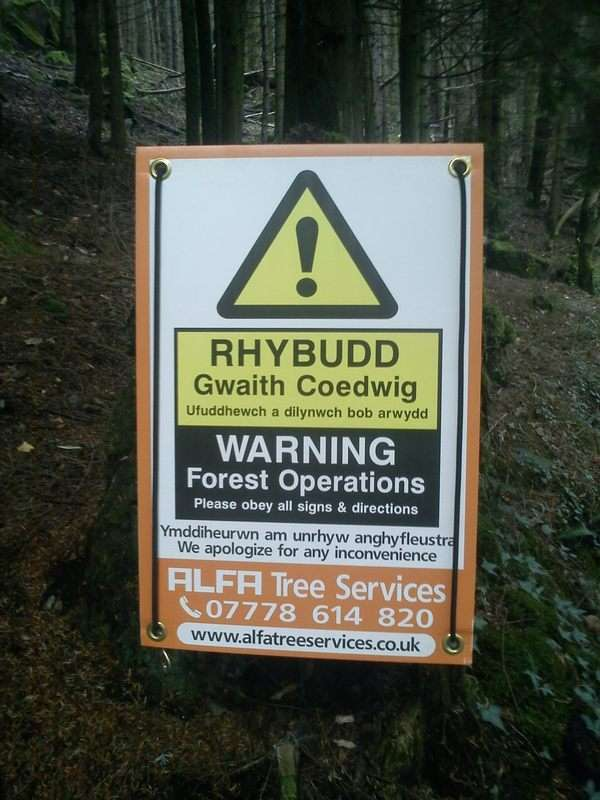 warning forest ops