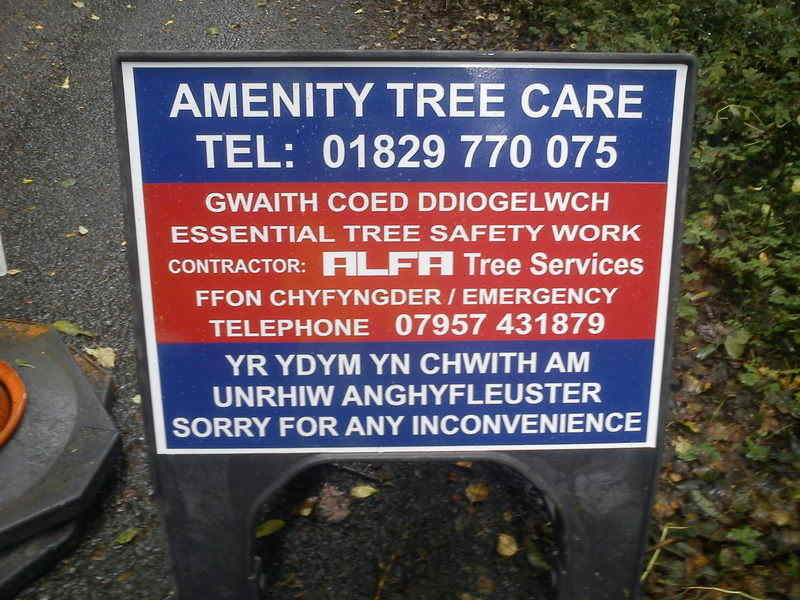 Amenity Tree Care sign