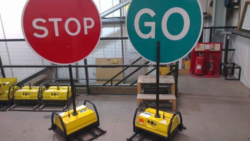 robo stop go