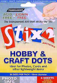 Stix 2 Hobby & Craft Dots - 96