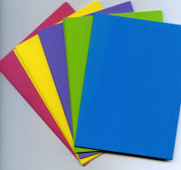 A6 Coloured Card Blank Packs