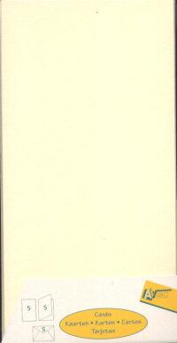 Avec Single Fold Card Blanks - DL