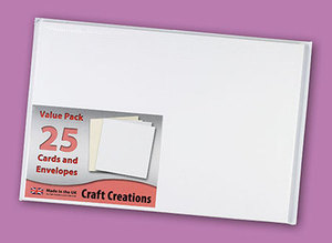 Single Fold Card Blanks - 150x203mm (A5) - Textured (25)
