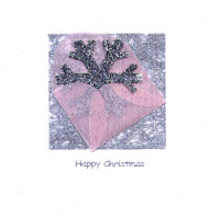 Light Arted Card Kit - Mini Envelope with Snowflake
