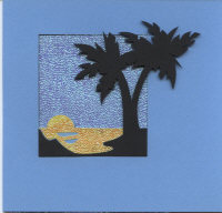 Light Arted Card Kit - Palm Tree Aperture