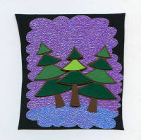 Light Arted Designs - Card Kit - Funky Trees