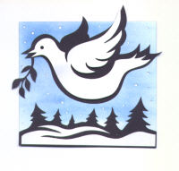 Light Arted Designs Card Kit - Christmas Dove
