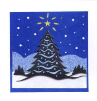 Light Arted Designs Card Kit - Christmas Tree