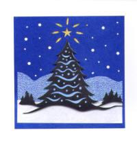 Light Arted Designs Card Kit - Christmas Tree