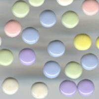 Bazzill Basics Brads - Spring Pastels