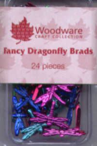 Brads - Fancy Dragonflies - Bright
