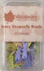 Brads - Fancy Dragonflies - Pastel