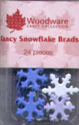 Brads - Fancy Snowflakes