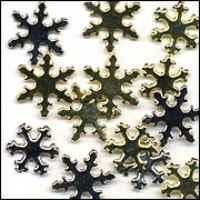 Brads - Fancy Snowflakes