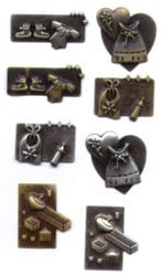 Scrapbook Basics Baby Charms