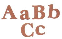 Light Arted Designs -  Alphabet