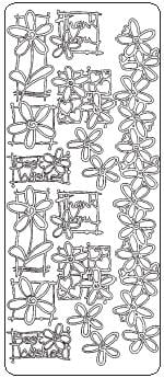Francoise Daisy Collection Peel Off Stickers