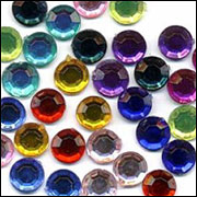 Acrylic Jewels 5mm