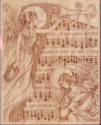 Rubber Stampede Angel Chorus Collage