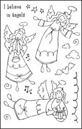 Woodware Clear Magic - Angels