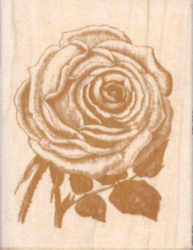 Anna Griffin Rubber Stamp - Rose